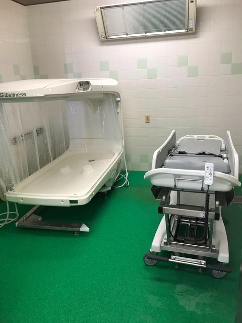 熊本県の精神科病院様にシャワーバス【セレーノ HK-3100】を導入しました